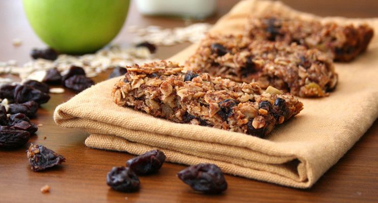 Cinnamon-Spiced Granola Bars